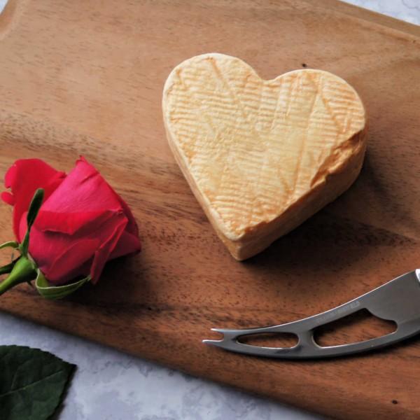 Heart shaped cheese Couer d Arras