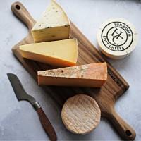 Artisan English Cheese Board Selection