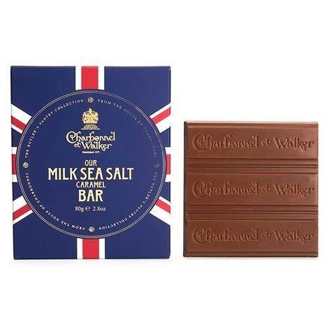 Charbonnel et Walker Milk Chocolate Sea Salt Bar