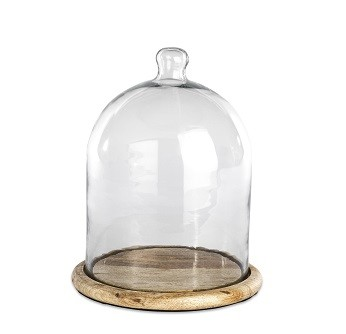 Glass Bell Dome