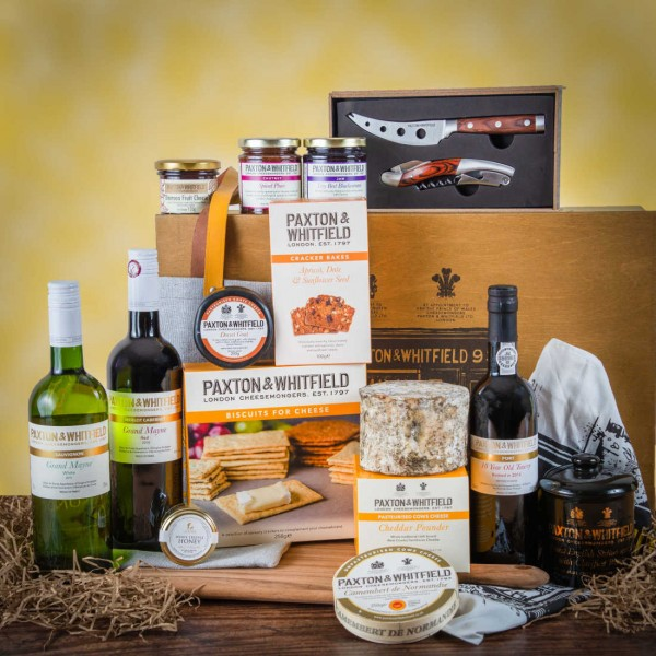 The St James Cheese Gift Hamper