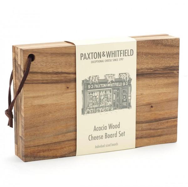 Paxton Acacia Cheese Board Set
