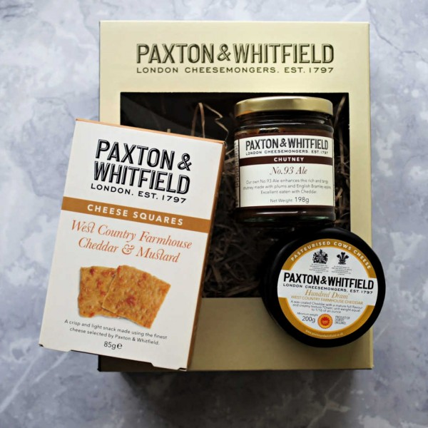 Cheddar Cheese Lovers Gift Box