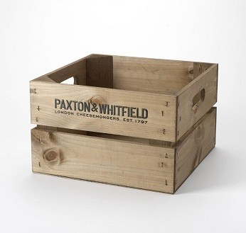 Paxton's Wooden Gift Crate