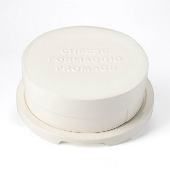 Ceramic Cheese Platter & Lid