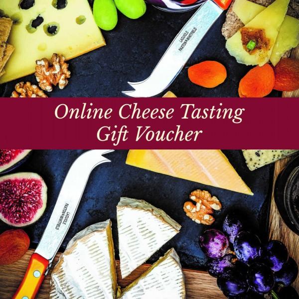 Online Cheese Tasting Gift Voucher
