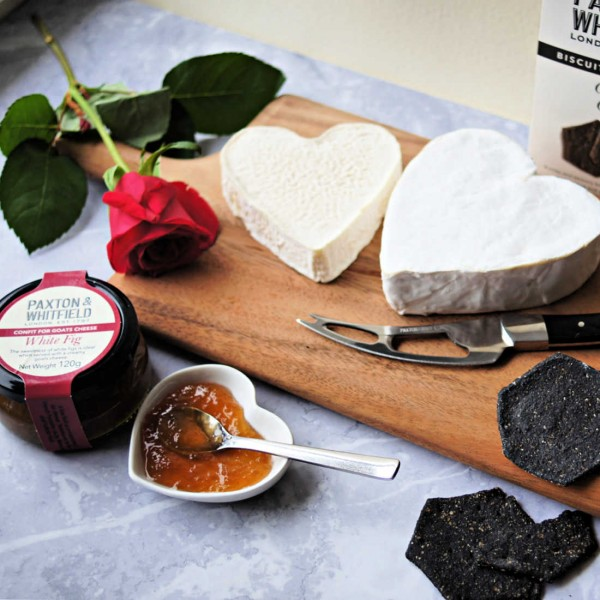 Valentine's Cheese Selection