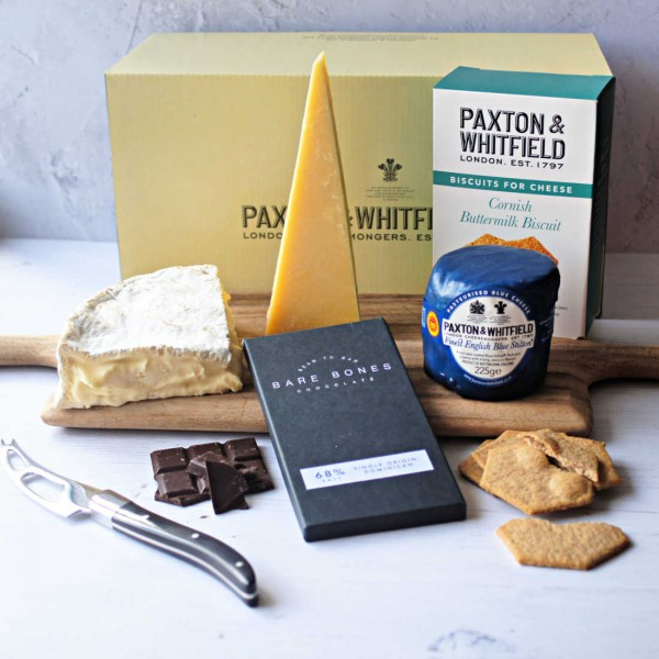 Father's Day Cheese & Chocs Gift