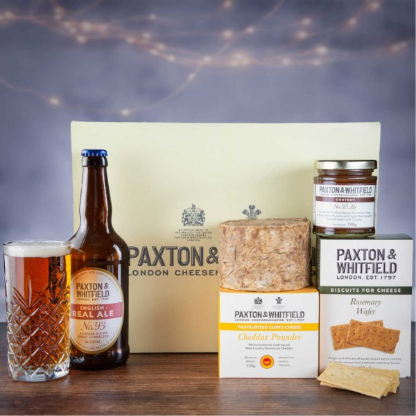 Cheddar and Ale Cheese Gift Hamper
