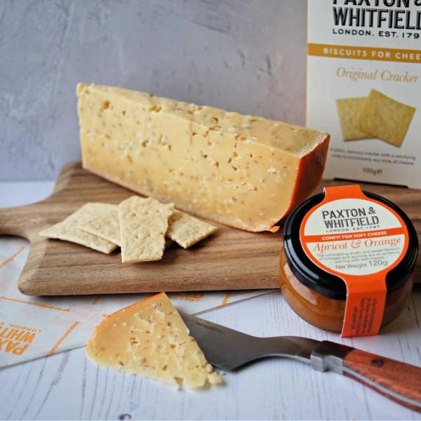 Gouda Cheese with Cumin