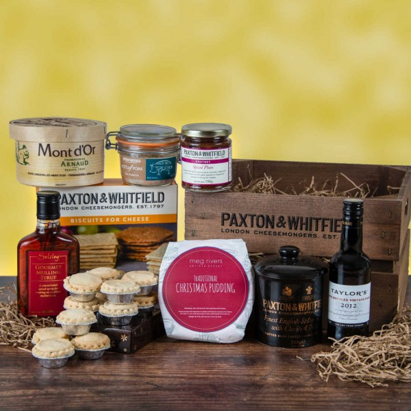 Christmas Cheese and Port Hamper