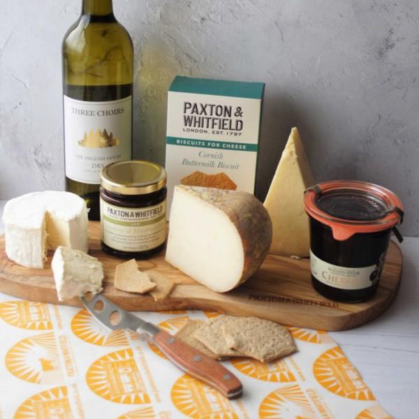 April Cheese & Wine Treats