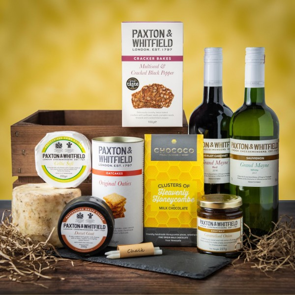 The Windsor Cheese and Wine Hamper
