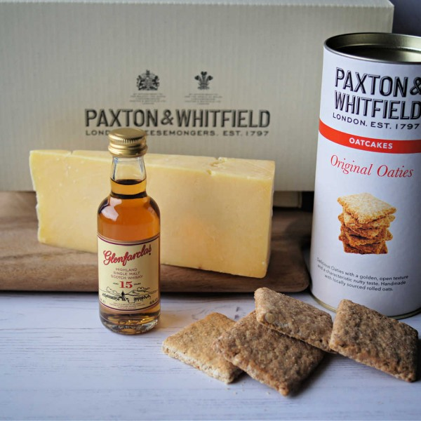 Whisky & Cheese Taster Box