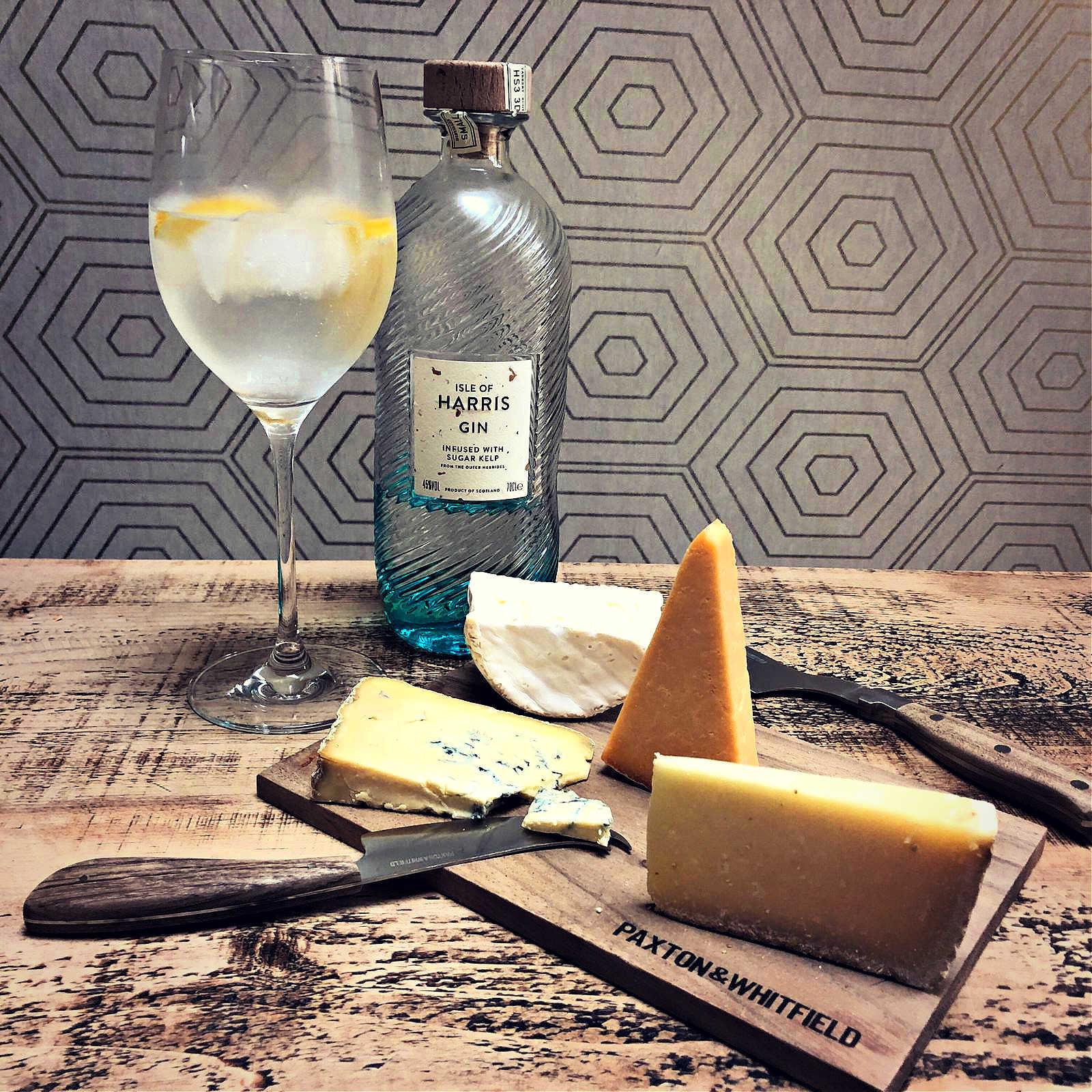Isle-of-Harris-Gin-and-Cheese-Pairing