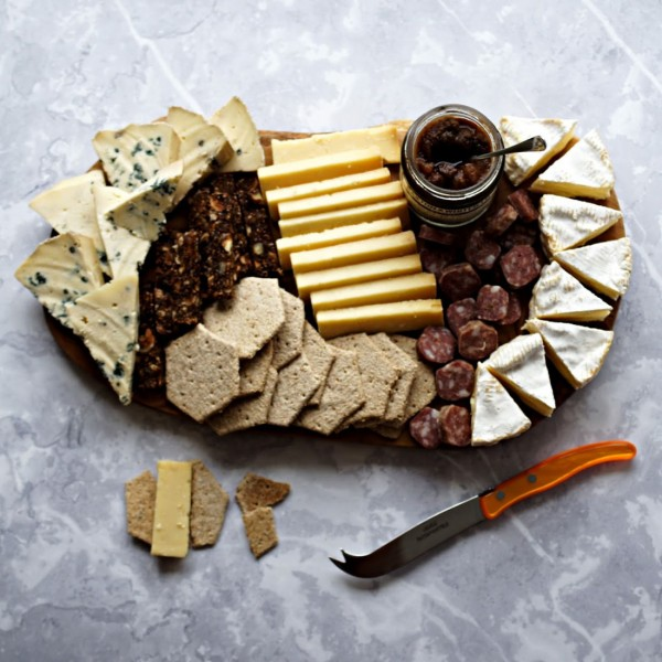 Make Your Own British Cheese Board