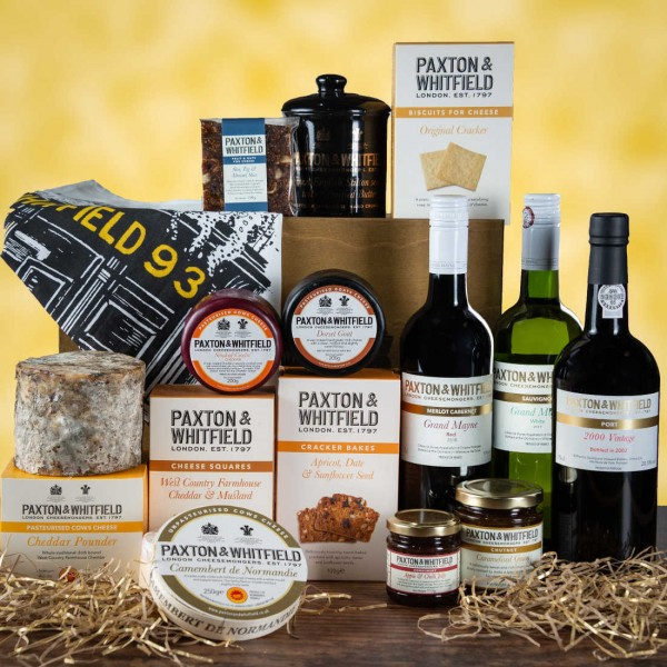 Cheese and Wine Hamper The Kensington