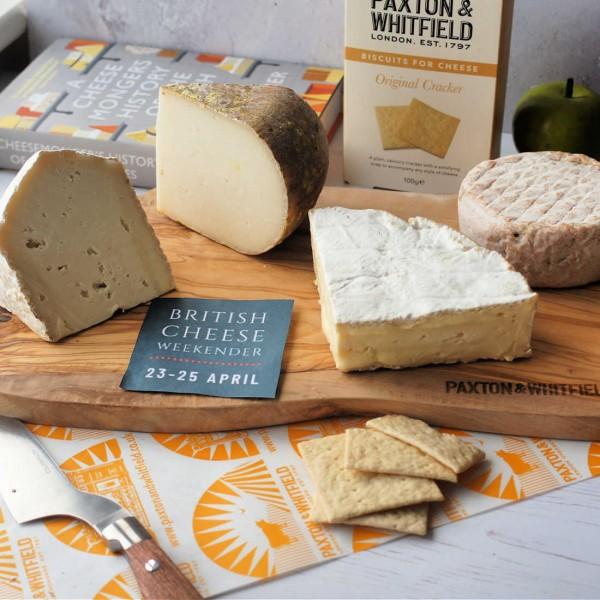 British Cheese Weekender Exclusive Pack - Free £10 Voucher
