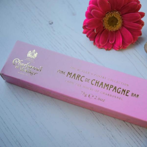 Marc de Champagne Chocolate Bar - Charbonnel et Walker