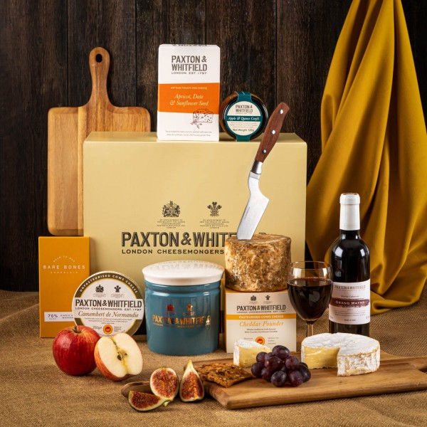 The Chelsea Cheese and Wine Hamper