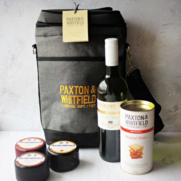 Cheese and Wine Cool Bag - Paxton & Whitfield