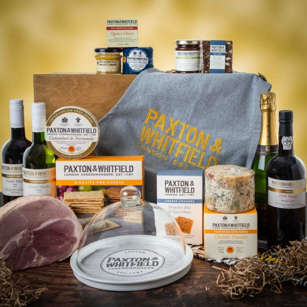 The Belgravia Cheese and Wine Hamper