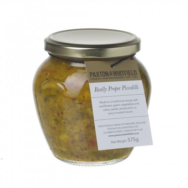 Really Proper Piccalilli Orcio Jar