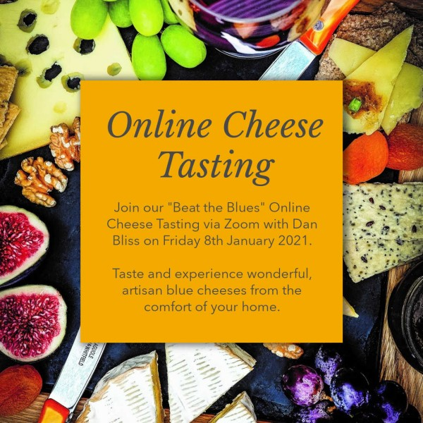 Online Cheese Tasting: 8th January