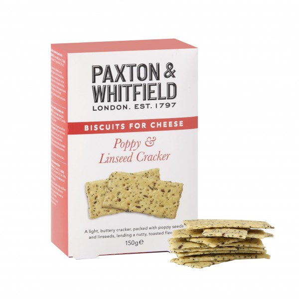Poppy & Linseed Cracker