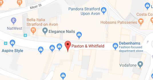 stratford-upon-avon-map