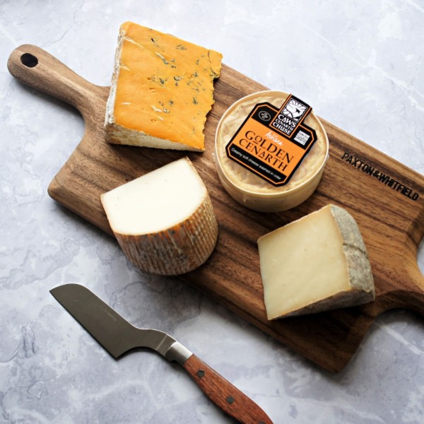 Vegetarian Cheese Board Selection