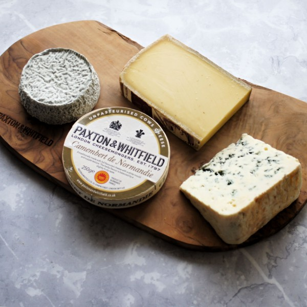 French Classic Cheese Board Selection