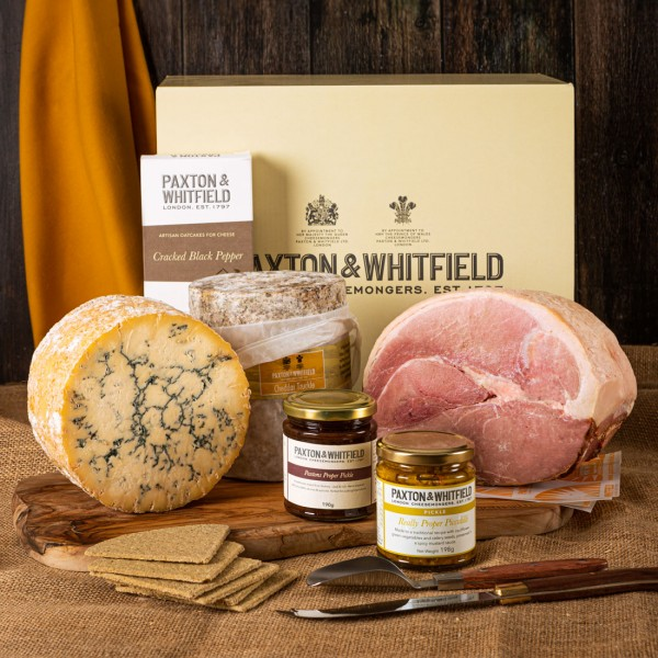 The Hearty British Cheese Feast Hamper