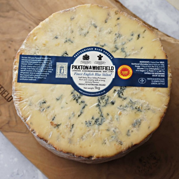 Stilton Half Baby Cheese